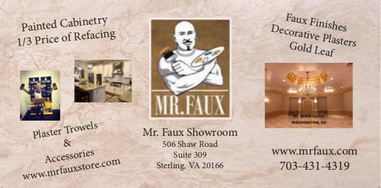 Mr Faux Faux Finishing Decorative Plasters, Painted Cabinetry Virginia