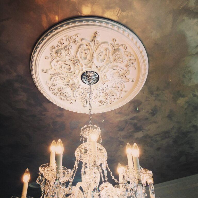 Luster Stone Ceiling At Work With Mr Faux Chris Burks