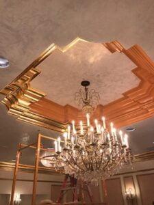 Venetian Plaster & Goldleaf