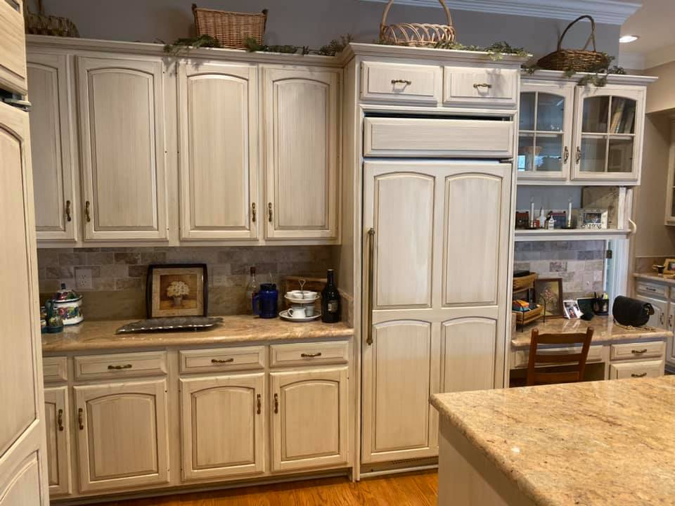 Mr Faux Glazed Kitchen Cabinetry McLean, Virginia