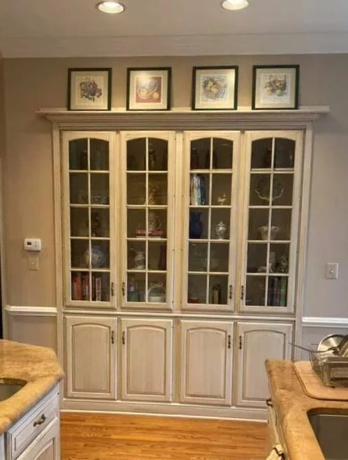 Mr. Faux Glazed Kitchen Cabinetry McLean, Virginia 2