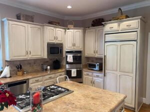 Mr Faux Glazed Kitchen Cabinetry McLean, Virginia 4