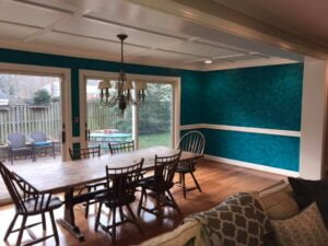 Mr. Faux Heavy Textured Dining Room Walls